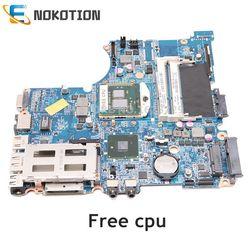 NOKOTION 599523 001 614524 001 DASX6MB16E0 dla HP Probook 4420S 4320S Laptop płyta główna HM55 DDR3 bezpłatny procesor w Płyty główne do laptopów od Komputer i biuro na