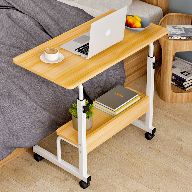 Tian Rui On Behalf Of Simplicity Laptop Table Bed Household Removable Lazy Height Adjustable Bedside Table