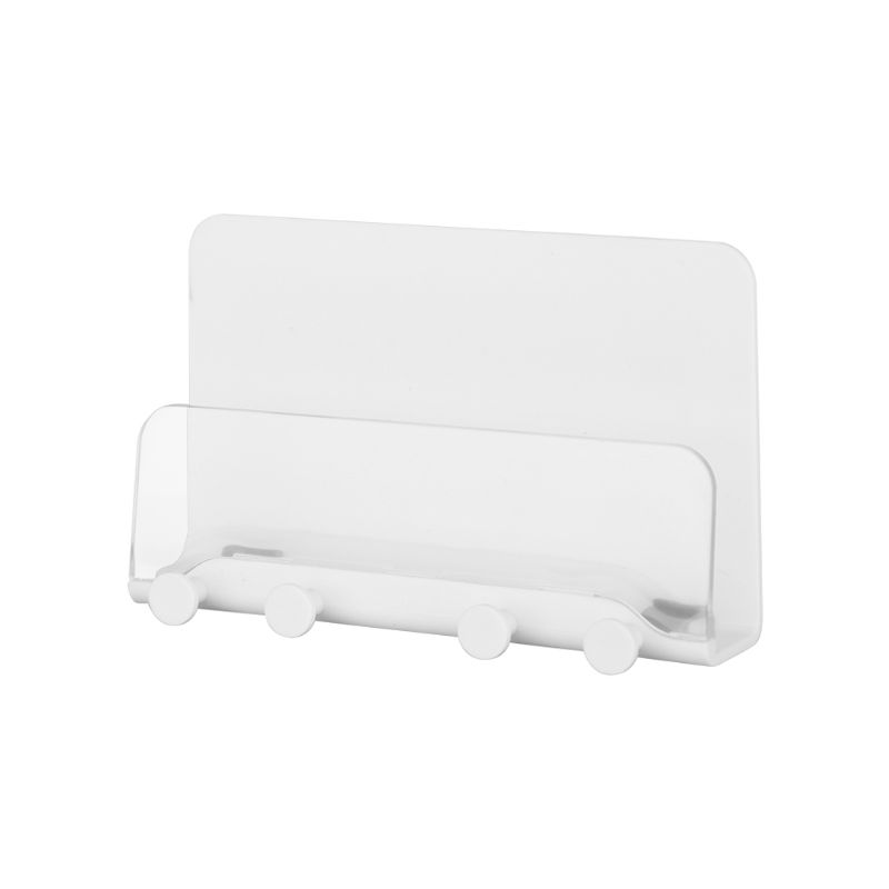 Adhesive Wall Mount Phone Holder Charging Dock Stand Cradle for Cellphone Tablet LX9A