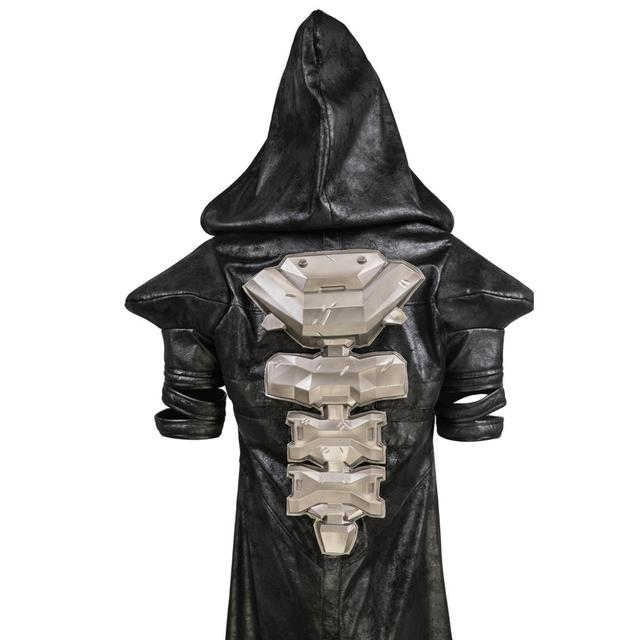 COSTHEME Overwatch Reaper Robe, Officially Licensed, Halloween Cosplay Costume Coat Gabriel Reyes Game Anime Apparel with Spine 4