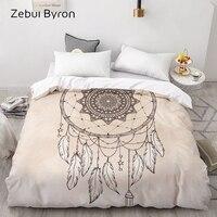 3D Custom Duvet Cover,Comforter/Quilt/Blanket case Queen/King Bedding 220x240/200x200,Dreamcatcher Retro Home textile,drop ship