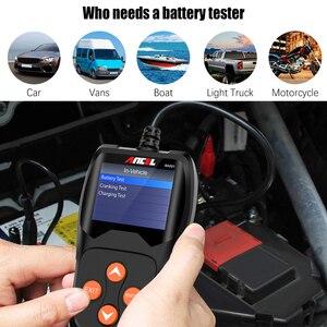Image 4 - ANCEL BA201 Auto 12V Batterie Tester Analysieren 220Ah 2000CCA Spannung Laden Schnell Ankurbeln Lade Auto Diagnose Batterie Test