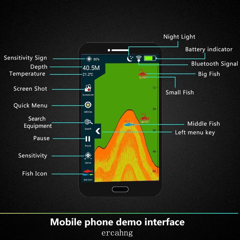 gelo sonar profundidade localizador transdutor sonar para lampada pesca 04