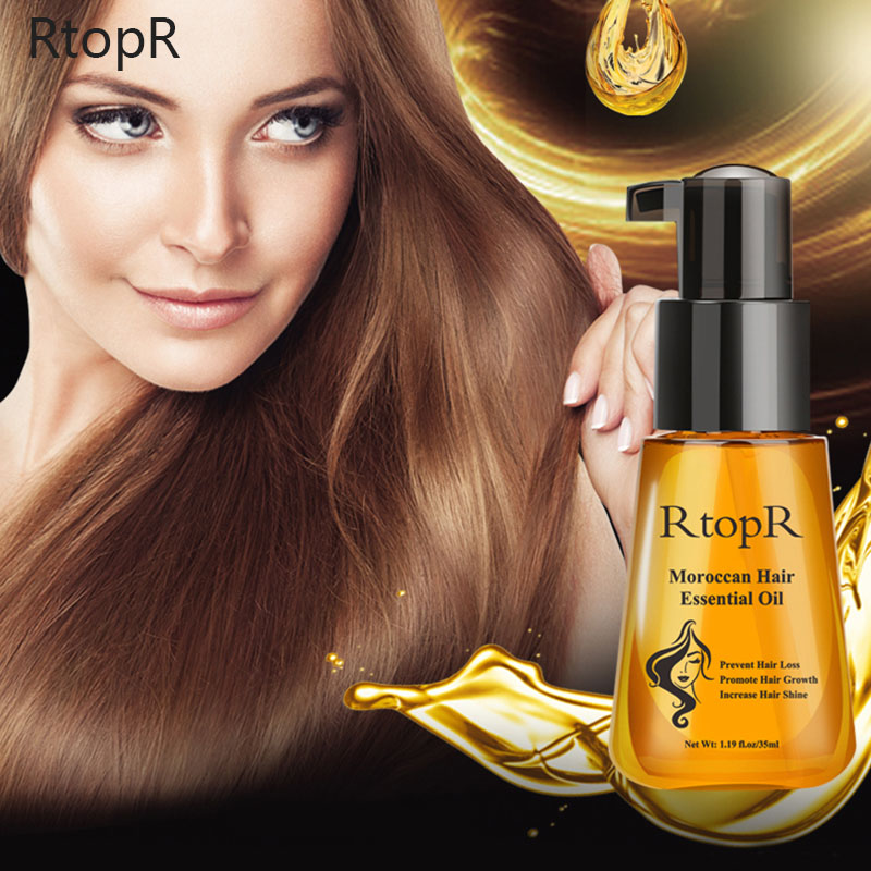 Moroccan Hair Care Essential Oil Prevents Hair Loss And Promotes Hair Growth Essential Oil Repair Dry Split Ends Hair Care RtopR