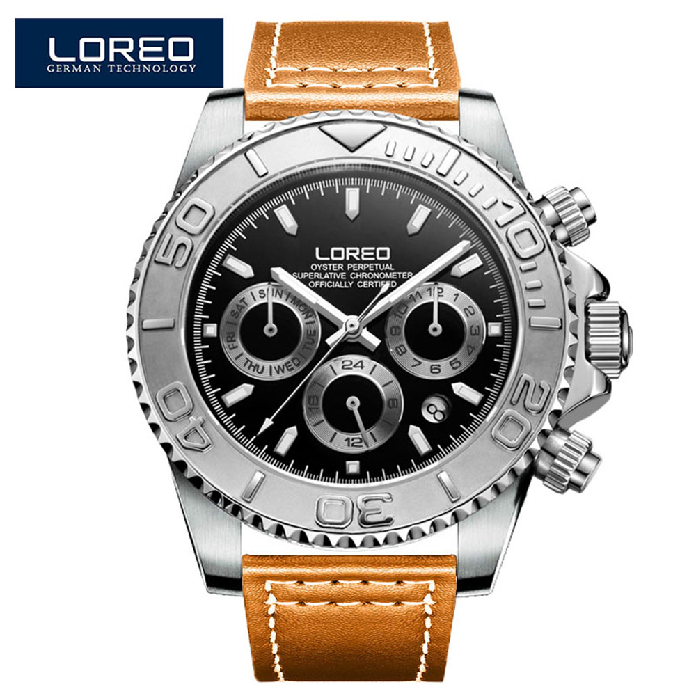200M Diving Mechanical Wristwatches Men Sport Automatic Watch Mens Fashion Stainless Steel Sapphire Crystal Diver Swim Watch Men