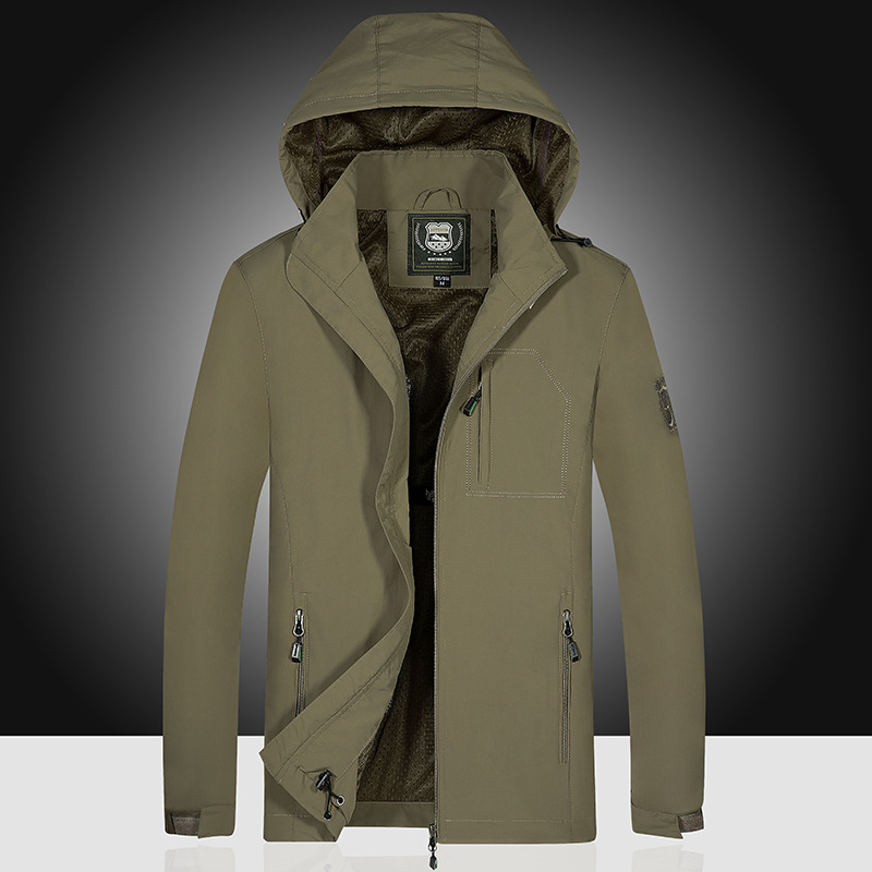 Perennial M-7x L Large Size Jacket Men's Outdoor Waterproof Jacket Trench Coat Hot Selling Customizable L