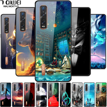 Tempered Glass Cover For Oppo Find X2 Pro Case