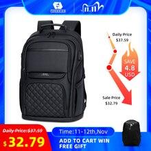 Fenruien mochila impermeable multifuncional para hombre y mujer, bolso de viaje para ordenador portátil de 15,6 pulgadas, con carga USB, informal, escolar