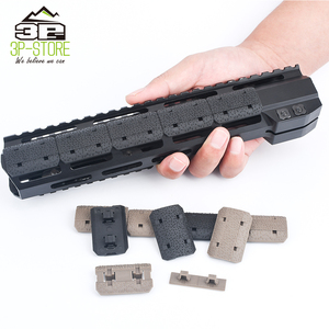 WADSN Airsoft M-LOK Rail Cover 12 Piece Polymer Softair Mlok Handguard Cover fit 20mm Picatinny Weaver Rail Mount Accessories(China)