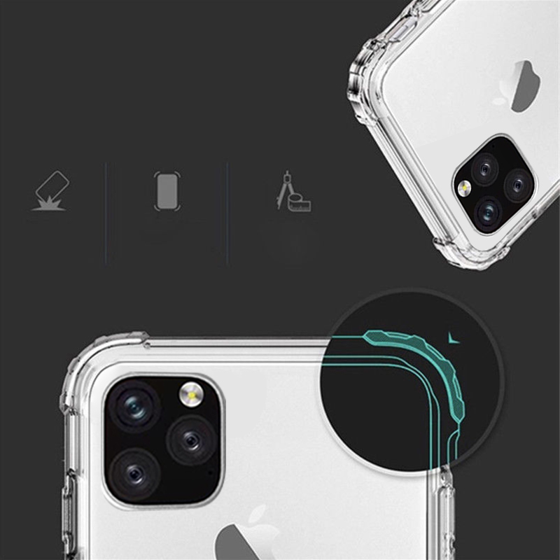 Heavy Duty Clear Case for iPhone 11/11 Pro/11 Pro Max 7