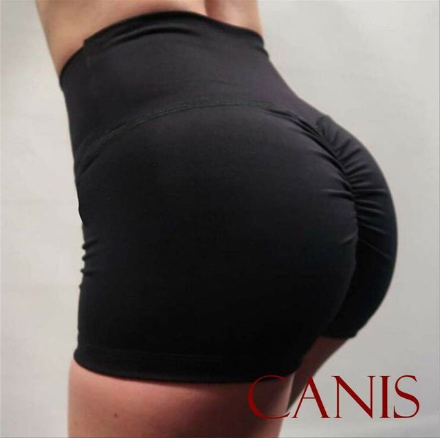 Sexy Women's Sports Shorts Athletic Gym Workout Fitness 2019 sportswear ladies solid shorts 3