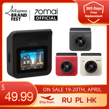 Car DVR Car-Recorder Dash-Cam Dual-Channel 70mai A400 Front And Back Sight 1440p-Resolution