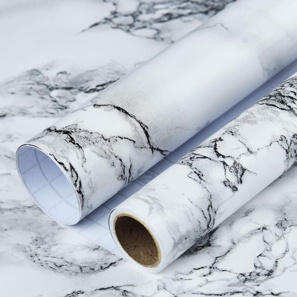 Art3d Self-Adhesive Marble Wallpaper For  Contact Paper Countertops (78.7
