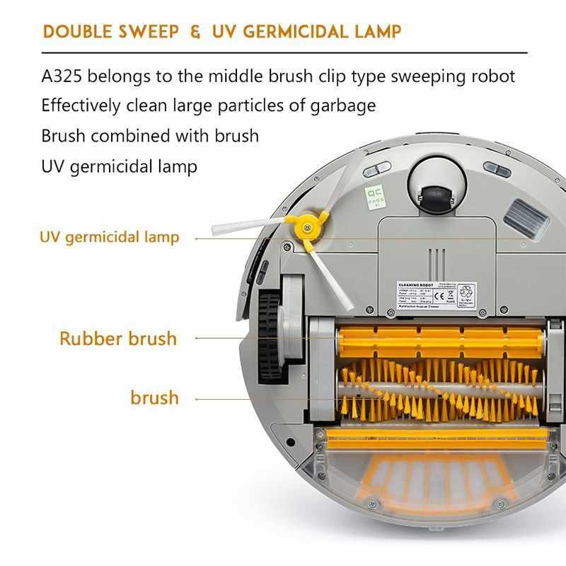Робот пылесос подметальный робот с мощной подметкой тяга и лук путь и виртуальная стена бак для воды заполнение обратно
