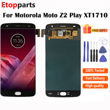5.5 inch OLED For Motorola Moto Z2 Play LCD XT1710-02 XT1710-06 XT1710 Display Touch Screen Replacement Free Shipping
