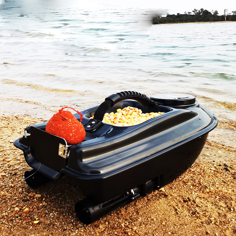 Cruise New Function Intelligent Wireless Rc Lure Boat Bait Boat 500M 1.5KG Fish Finder RC Fishing Boat With Free Free Shipping