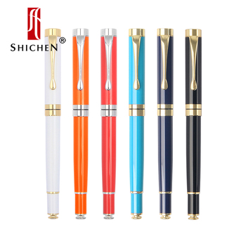 ShiChen black metal ballpoint pen gel pen 0.5mm learning office supplies stationery gifts hotel business ballpoint pen 1 0mm silver metal novel ballpoint pen learning office supplies school stationery gift luxury pen hotel business
