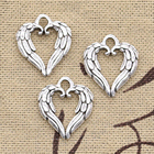 8pcs Charms Heart An...