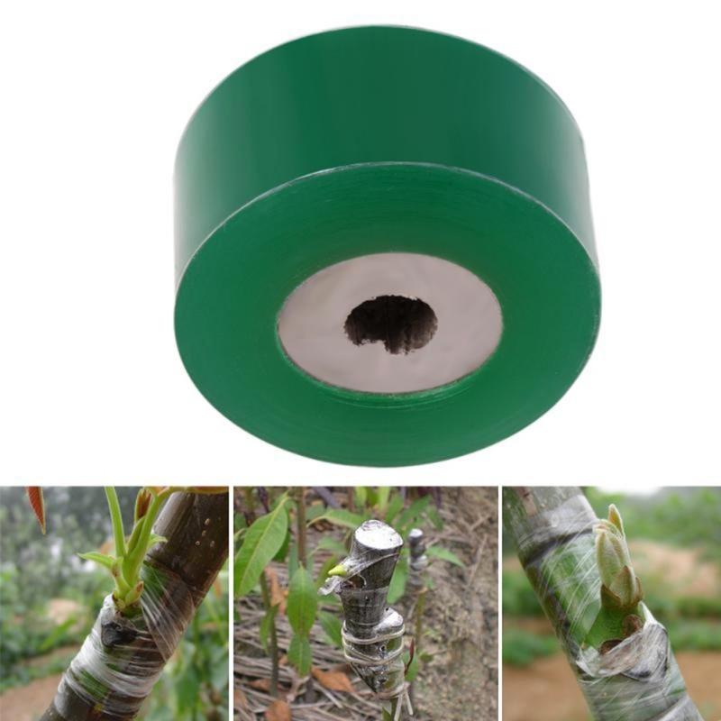 2CM X 100M / 1 Roll Fruit Tree Seedling Grafting Winding Film Grafting Tape Garden Tools Y Tm