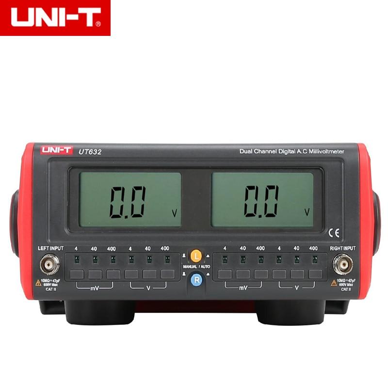UNI-T UT632 Dual-Channel Digital AC Millivolt Metro