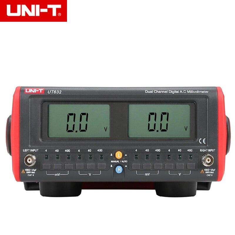 UNI-T UT632 compteur de Millivolts ca numérique double canal