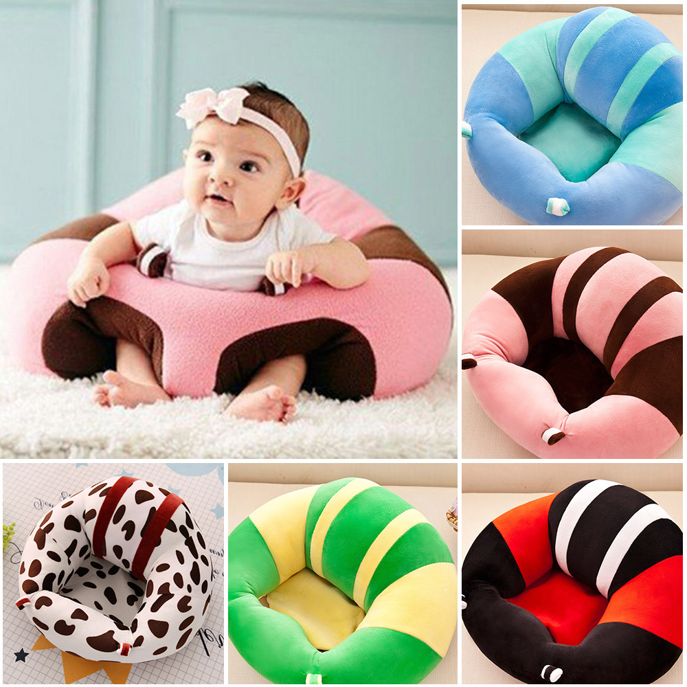 Baby Sofa Chair For Infant Learning To Sit Baby Nest Plush Toys Bean Bag Soft Cushion Chair