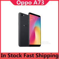 """DHL Fast Delivery Oppo A73 4G LTE Cell Phone Fingerprint 6.0"""" 2160X1080 16.0MP+13.0MP Snapdragon 660 4GB RAM 32GB ROM Bluetooth 1"""