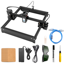 4.2 System Desktop Engraver Portable DIY Engraving Carving Machine Mini Carver Frame Type Adjustable Focal Length 5.5W 10W 20W