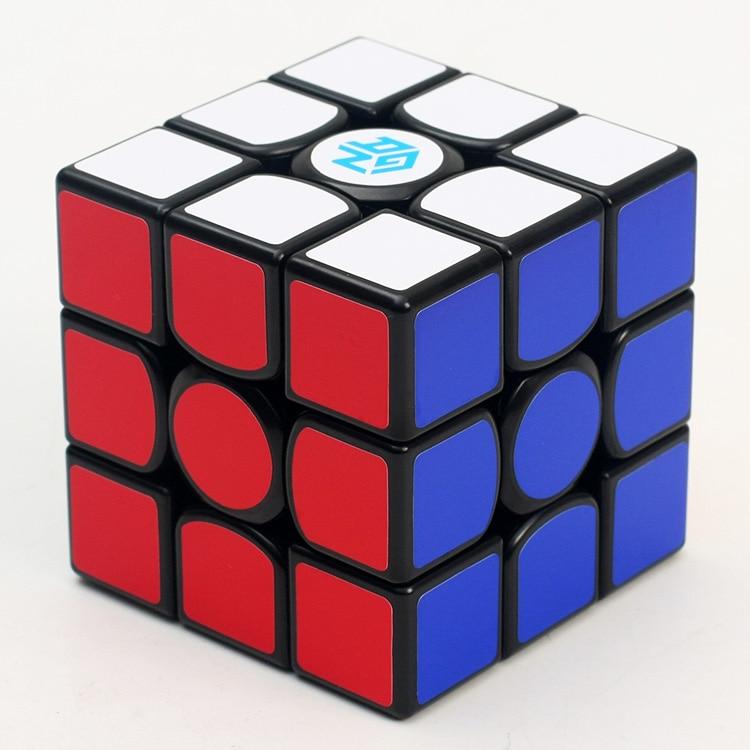 Original GAN356 Air 3x3x3 Magic Cube Puzzle 5.6cm 3x3 Speed Cube Professional Gans 56mm Puzzle Twist Educational Kid Toys