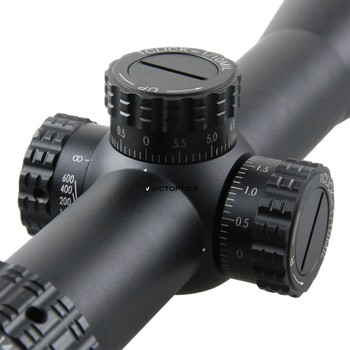 VictOptics AGN 6-24X50 MDL Optical Scope 30mm Tube 1/10 MIL For Hunting Sniper Airsoft Guns Fire Arms Riflescope AR15 .223 5.56 3