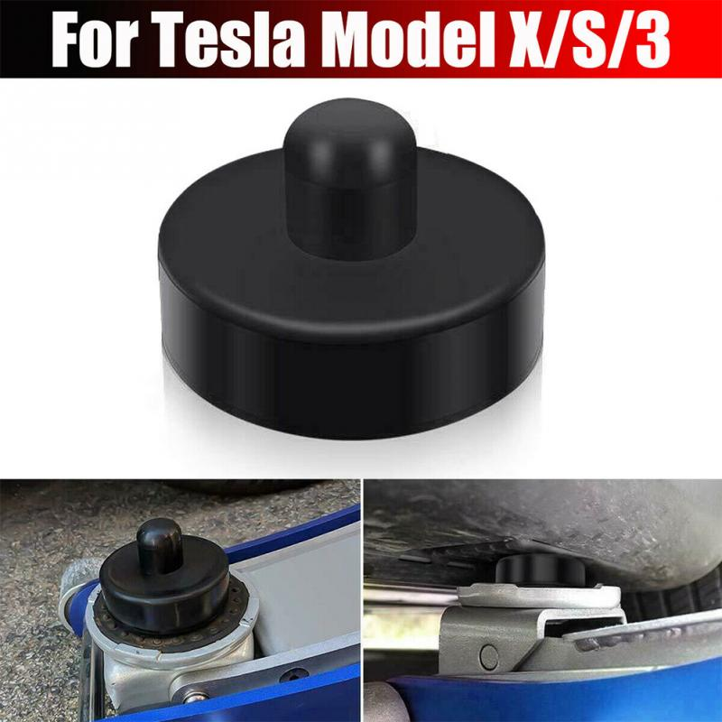 4Pcs/set  Jack Lift Point Pad Adapter Jack Pad Tool Chassis Dedicated Auto Product For Tesla Model 3 Car Styling