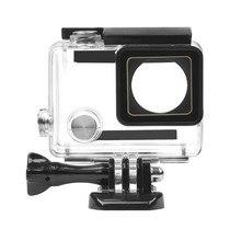 Boîtier étanche boîtier extérieur Sport caméra sous marine boîtier de protection pour GoPro Hero 4/3 +