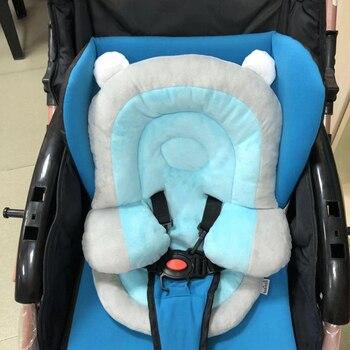Baby Safety Seats Pad Multifunction Met for Stroller Mattress Velvet Baby Sleeping Pillow Met Sponge Warm Winter YAP026 цена 2017