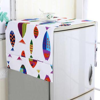 Ręcznik domowy krokodyl kreskówka pokrowiec antykurzowy na lodówkę ręcznik pojedyncze drzwi podwójne drzwi otwarte drzwi pokrywa drzwi lodówki tanie i dobre opinie CN (pochodzenie) Poliester bawełna refrigerator cover PRINTED MEDITERRANEAN household