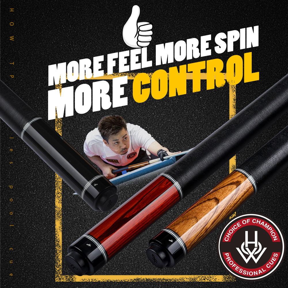 HOW Billiard Cue Irish Linen Grip Rare Solid 12.8mm M4 Pro Shaft Pool Cue 3 Choices Handmade Billar Stick Kit Athlete