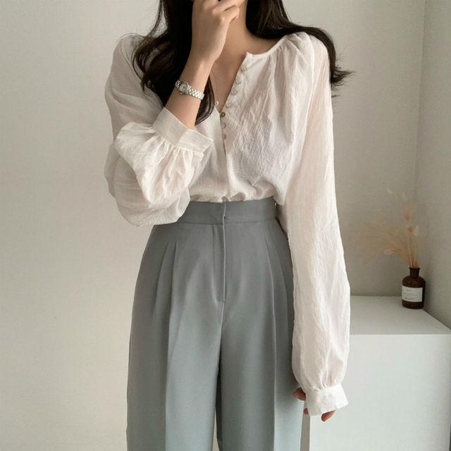 New Spring Vintage White Shirt female Oversize Tops Women Long sleeve Girls Blouse Summer New Women Blouses femme Blusas 1