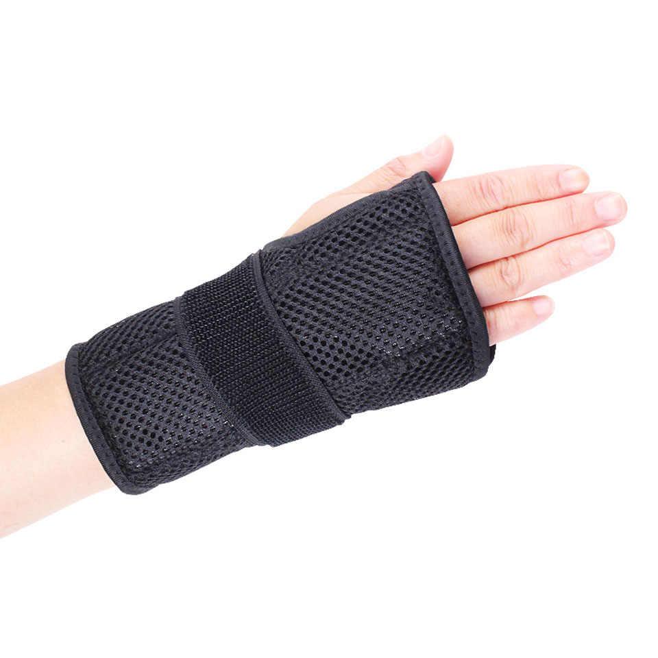 Aolikes 1PCS יד סדי יד סד דלקת בגיד לילה שינה עם כרית כף כרית ימין יד שמאל