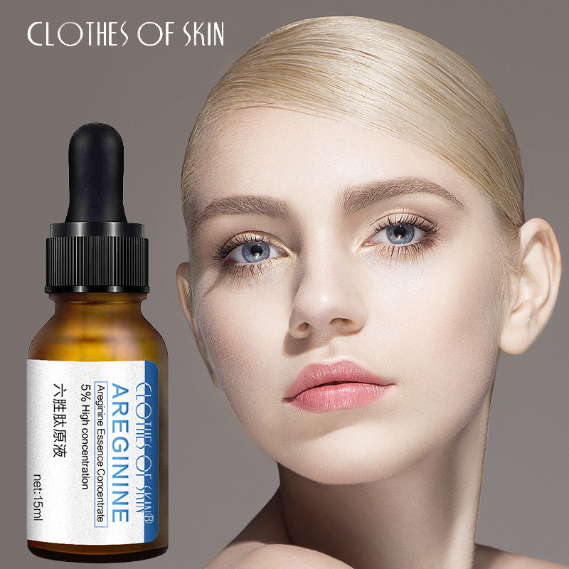 Face Serum Six Peptide Anti-Aging Anti-Wrinkle Essence Liquid Hyaluronic Acid Shrink Pores Moisturizing Firming Facial Skin Care