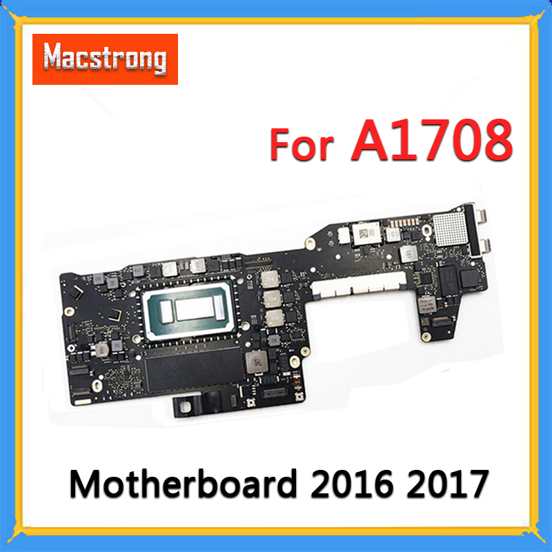 Tested A1708 Motherboard I5 2.0G 8GB 820-00875-A For MacBook Pro 2016 2017 13