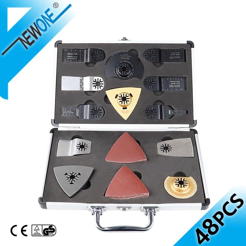 NEWONE Bi-metal Oscillating Saw Blades Box Multitool Precision Saw Blade In Electric Renovator Timmer Power Tool Saw Accessories