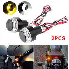 LED Turn Signal Lights Handlebar Indicator Blinker Bulb Lamp Motorcycle Parts(China)