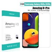 Voor Samsung Galaxy A50s Glas Screen Protector 6.4 ''NILLKIN Verbazingwekkende H/H + PRO Gehard Glas voor Samsung galaxy A30s