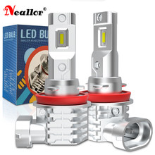 H11 H8 H9 H4 HB3 HB4 Led Fog Lights Drl Bulb On Cars Accessories Diode Lamps For Volvo s60 Ford focus 3 Passat b6 Kia Cerato 3