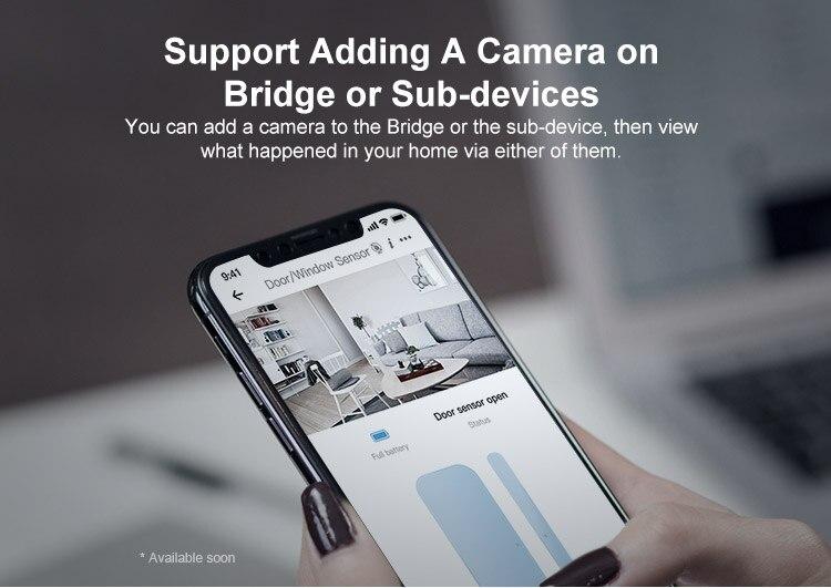 H528072e0e6784688ace29e9edbaacb2aY - SONOFF ZigBee Bridge Wireless Door/Window Sensor Alert Notification Via EWeLink APP Control Smart Home Security Switch