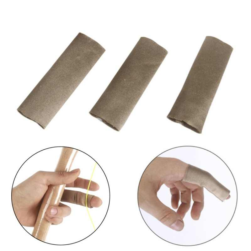 Outdoor Hand Gear Sleeve Protector for Camping Anti Scratch Soft Elastic Finger Skin Protective Hand Guard Yalatan 3pcs//set Fly Line Fishing Finger Sleeve Protector Cover