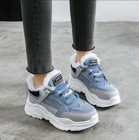 botas mujer invierno 2020 super warm women winter sneaker fashion wedge heel platform women snowboots chaussures femme zapatos