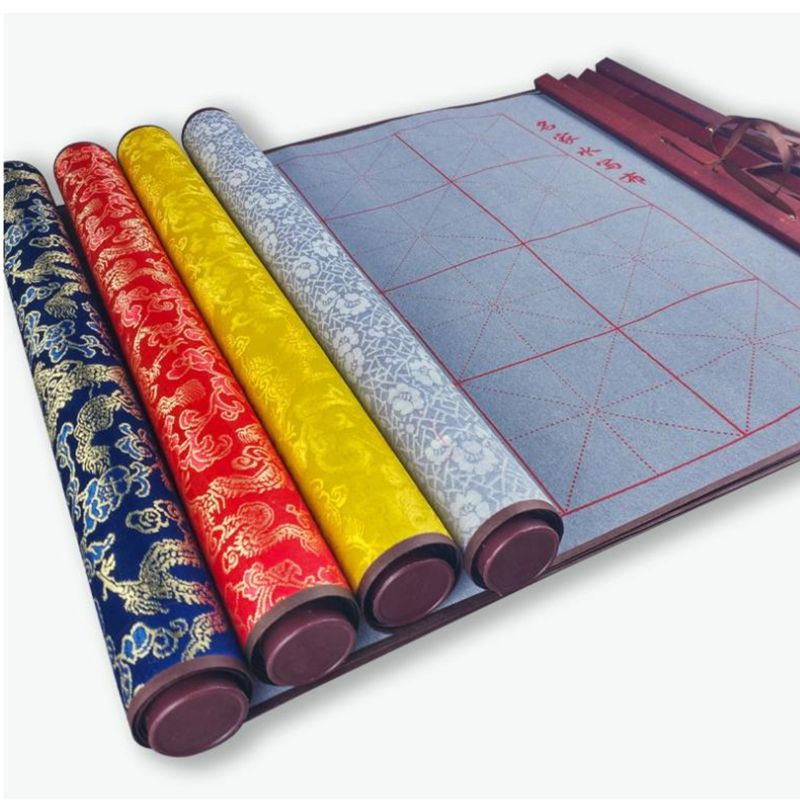Декоративная Классическая многоразовая кисть для китайской каллиграфии, волшебная ткань для письма водой, кисть для китайской каллиграфии...