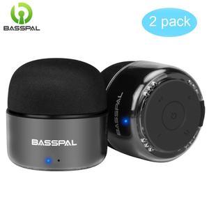 BassPal Portable Bluetooth Speakers Small True Wireless Stereo TWS Speaker with Radio IPX5 Waterproof Mini Speaker(China)
