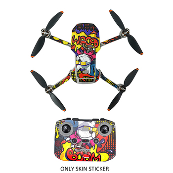 Easy Apply DIY Skin Sticker Drone Accessories Decoration Film Body Arm Dustproof Protective Cover For  Mavic Mini 2