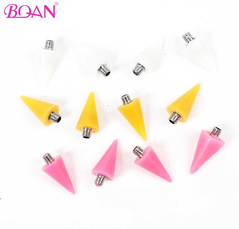 BQAN сменная Кисть для ногтей точечная восковая головка карандаш бусины Стразы самоклеящиеся насадки для ногтей